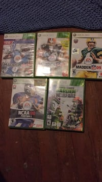5 Xbox 360 games Marion, 46953