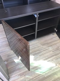 Tv stand with closet