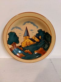 Church Painted Plate