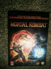Mortal Kombat Prima official game guide book Cumberland, 21502