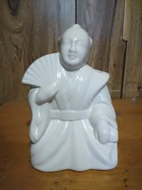 white ceramic angel figurine table decor Montgomery Village, 20886