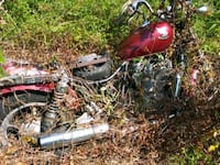 red cruiser motorcycle St. Augustine, 32084