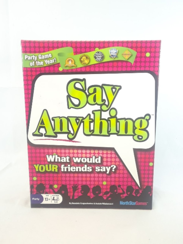 8d847099 Say Anything By North Star Games Game Board, New Funny Kids Game Team Smiles