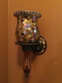 Party Lite Glass Mosaic Candle Wall Sconces Vaughan, L6A 0G4