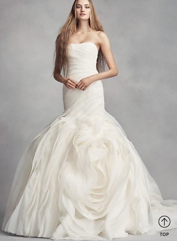 Used Vera Wang Wedding Dress For Sale In New York Letgo