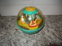 1966 Fisher Price Roly Poly Chime Ball  Morinville