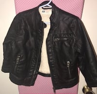 Kids Leather H&M Jacket Toronto