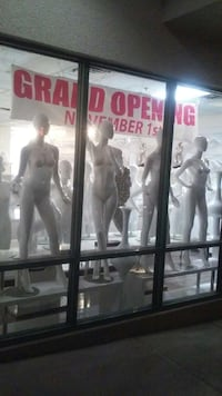 Like New Glossy White Mannequins. $150.00 each