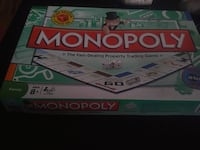 Monopoly board game with box