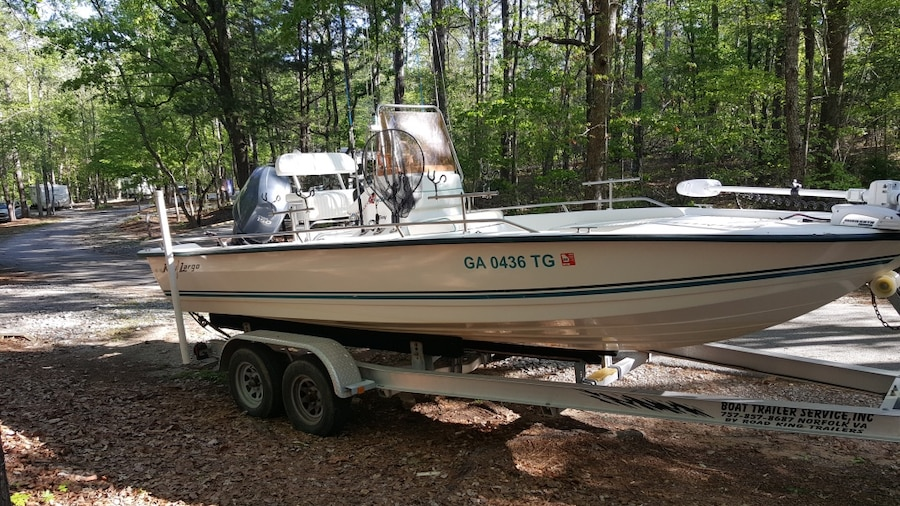 Photo Key Largo 210 Bay Center Console Fishing Boat
