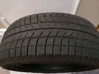2 piece Michelin winter tire, 2 months used