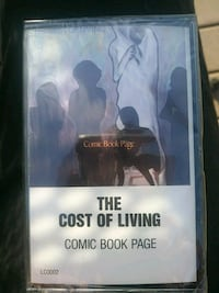 THE COST OF LIVING audio cassette