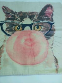 """17"""" Cat Throw Pillow Covers- 2 Designs Available Cypress, 90630"""