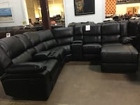Bonded leather sectional. Brand new.  Grand Prairie, 75052