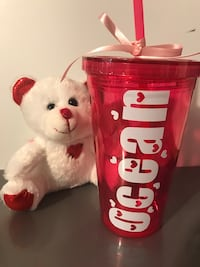 Personalized Valentine's Day tumblers, pick up visalia  Ivanhoe, 93235