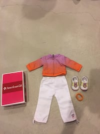 American Girl Doll McKenna's warm-up Outfit Retired in box