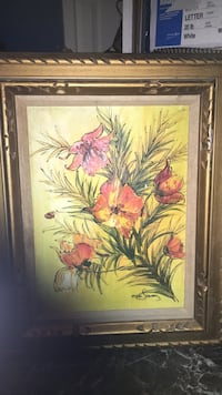 red and yellow flowers painting New York, 11226