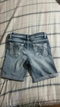 Girls sparkle shorts size 12 good condition
