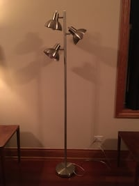 Floor Lamp- Silver  Chicago, 60622