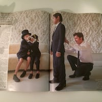 Brad Pitt and Angelina Jolie UK Hello Sept 2014  Richmond