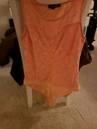 women's orange scoop-neck shirt Coquitlam, V3J 6J9