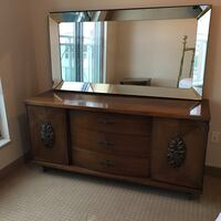 Wood Dresser and Mirror + Two Night Stands Pickering, L1X 2P7