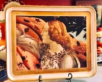 """Beautiful Decorative Vintage Victorian Tray from """"Neiman Marcus"""" (Made in Italy) Riverside, 64150"""