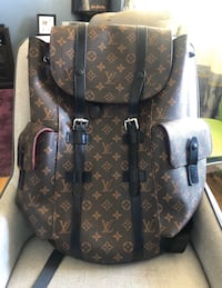 LOUIS VUITTON CHRISTOPHER M BACKPACK