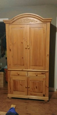 brown wooden cabinet with drawer Innisfail, T4G