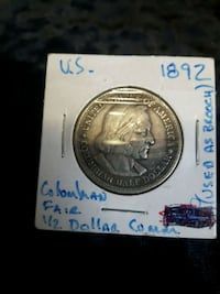 1892 Colombian dollar USA Sherwood Park, T8H 2G3