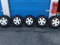 Jeep tires and rims for sale Brookfield, 06804
