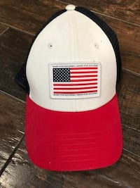 White, Red and blue trucker cap Oxnard, 93033