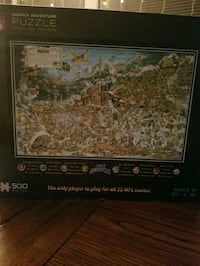500 piece NFL Packers official jigsaw puzzle