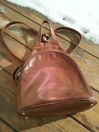 Small leather backpack 716 km