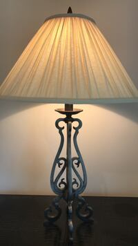 Lamp with metal base Mount Holly