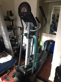Gray and black elliptical trainer Mississauga, L5A 3B3