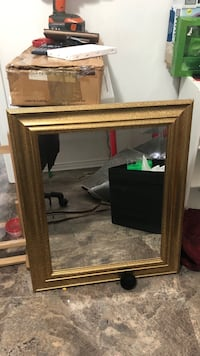 brown wooden framed wall mirror Barrie, L4N 4H4