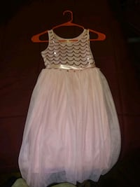 white and pink sleeveless dress Staten Island, 10304