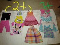 girl's assorted clothes Rocky Mount, 27803