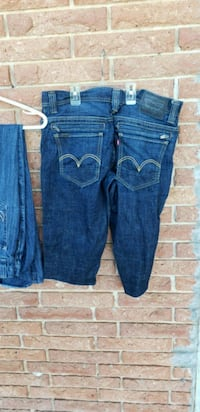 blue denim straight cut jeans Locust Grove, 30248
