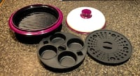 Purple Non-Stick Microwave Cooker  Stow