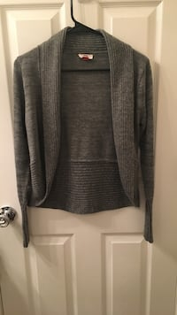 grey open cardigan Biloxi, 39531