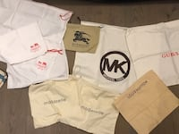 Micheal Kors, Coach, Guess, Burberry etc Dust Bags  539 km