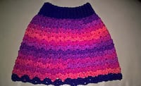 Crochet Toddler skirt/poncho