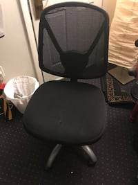 black and gray rolling chair 203 mi