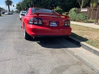 red Ford Mustang GT coupe Los Angeles, 90044