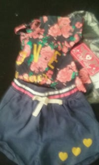 toddler's pink and green floral dress Jacksonville, 32257