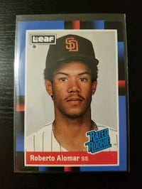 Roberto Alomar Rookie Card - Free Shipping