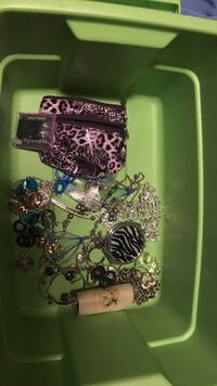 Assorted-color jewelry lot Saline township, 48176