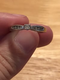 silver and diamond ring in box Prattville, 36067